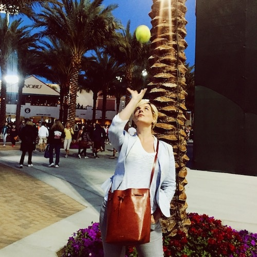 Fashion Trends Daily's Michelle Dalton Tyree reports from the BNP Paribas Open in Indian Wells, Ca.