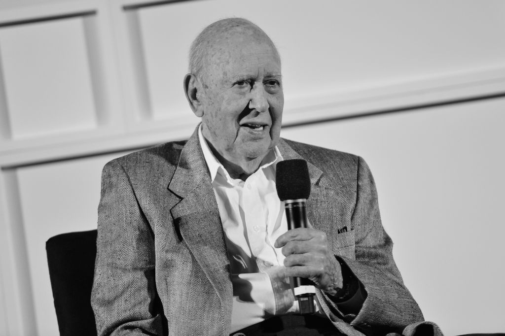 Actor/director Carl Reiner speaks onstage at the screening of 'The Jerk' during the 2017 TCM Classic Film Festival on April 8, 2017 in Los Angeles, California.