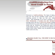 Credit Score Dating creditscoredating.com