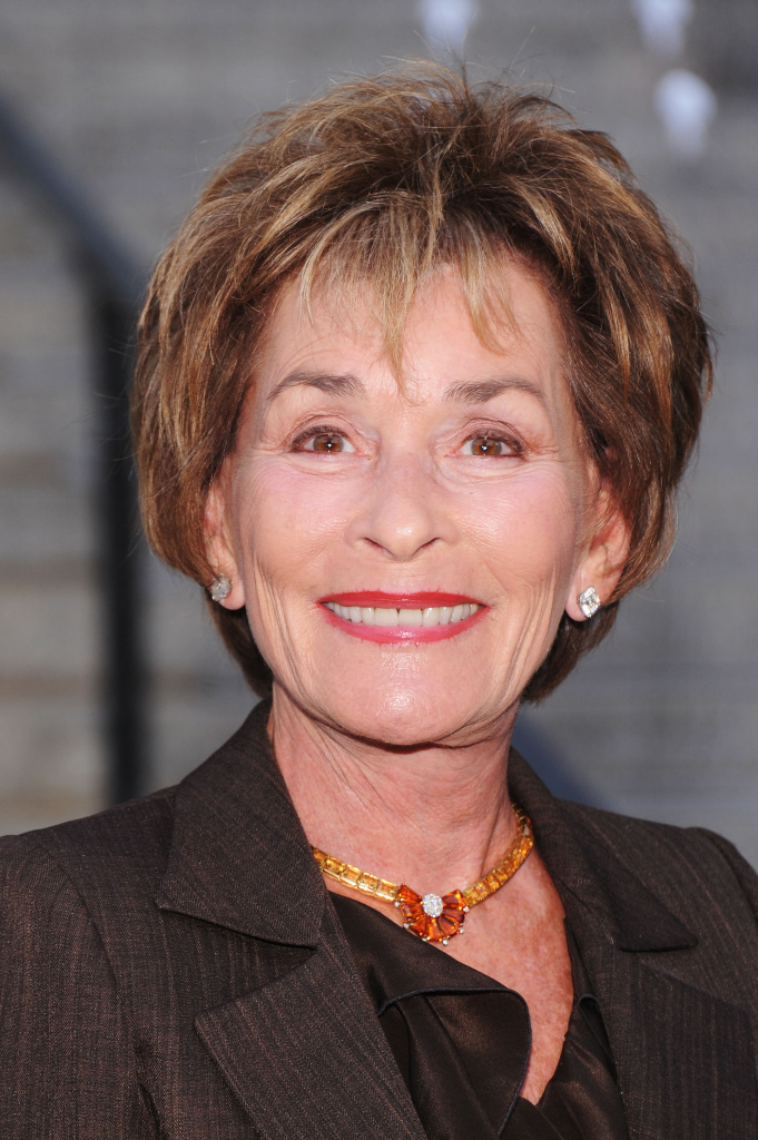 File: Judge Judy attends the 2012 Tribeca Film Festival at the State Supreme Courthouse on April 17, 2012 in New York City. Her son has recently been in the news.