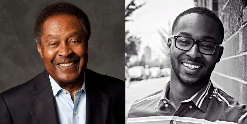 Left to right: Clarence Jones and Tyree Boyd-Pates