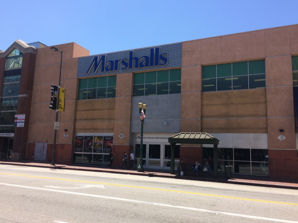 Antaeus Theatre in Glendale before its marquee was installed.