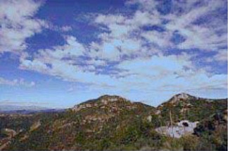 The newly-renamed Ballard Mountain is part of the Santa Monica Mountains in Agoura Hills, Calif.