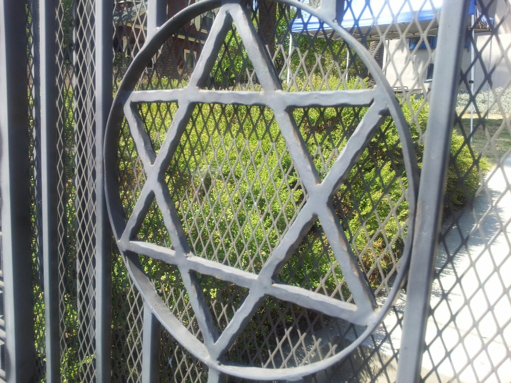 Yom Kippur Jewish star of David.
