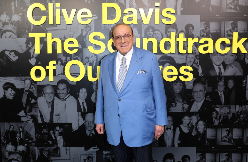 Clive Davis arrives for a screening of the documentary about him in London on Sept. 5, 2017.