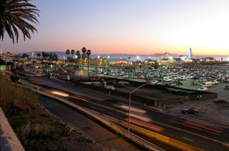 Pacific Coast Highway in Santa Monica