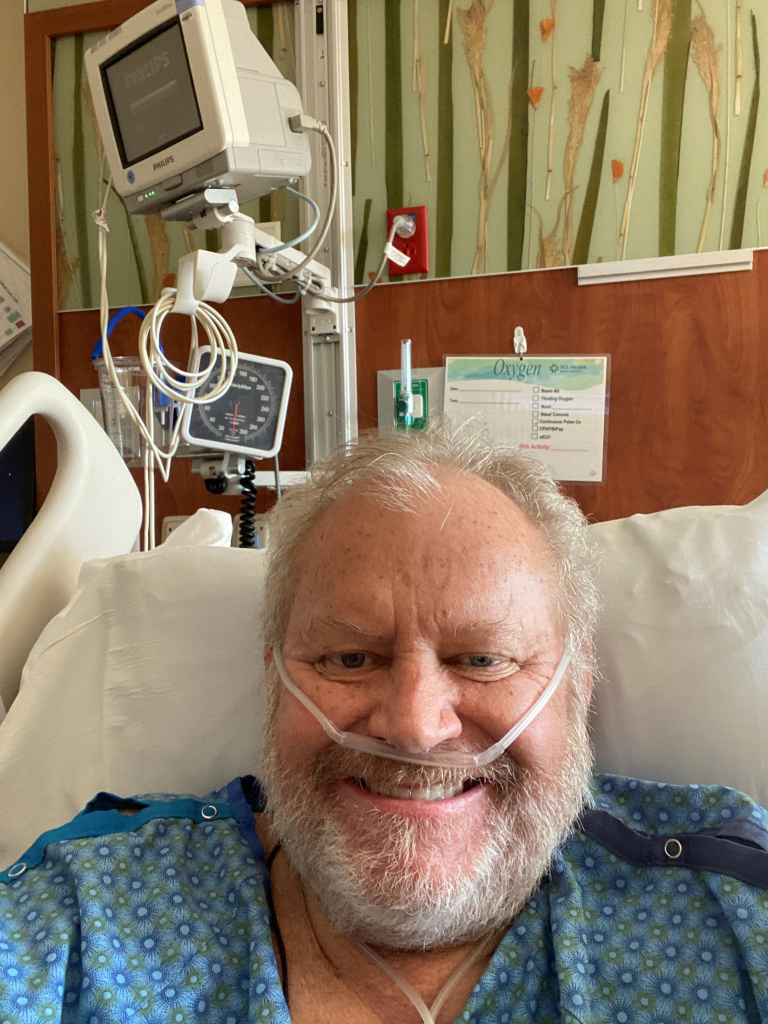 Kurt Papenfus is the lone full-time emergency room physician at a hospital in Cheyenne Wells, Colo. His illness is a test case for how the pandemic is affecting the fragile rural health care system.
