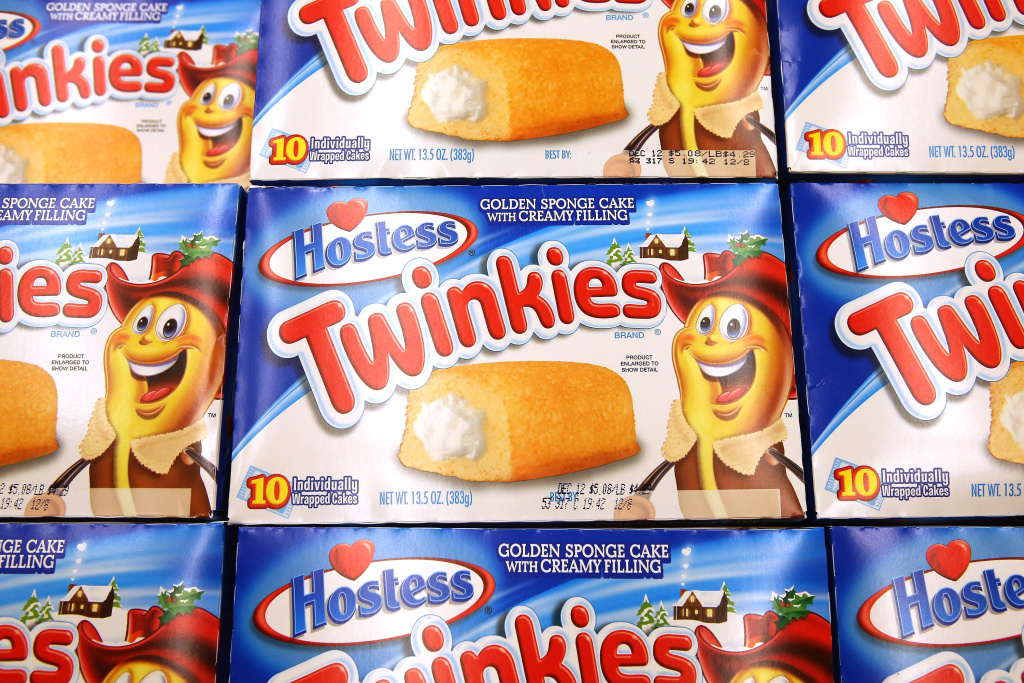 Hostess Twinkies are offered for sale at a Jewel-Osco grocery store on December 11, 2012 in Chicago, Illinois.
