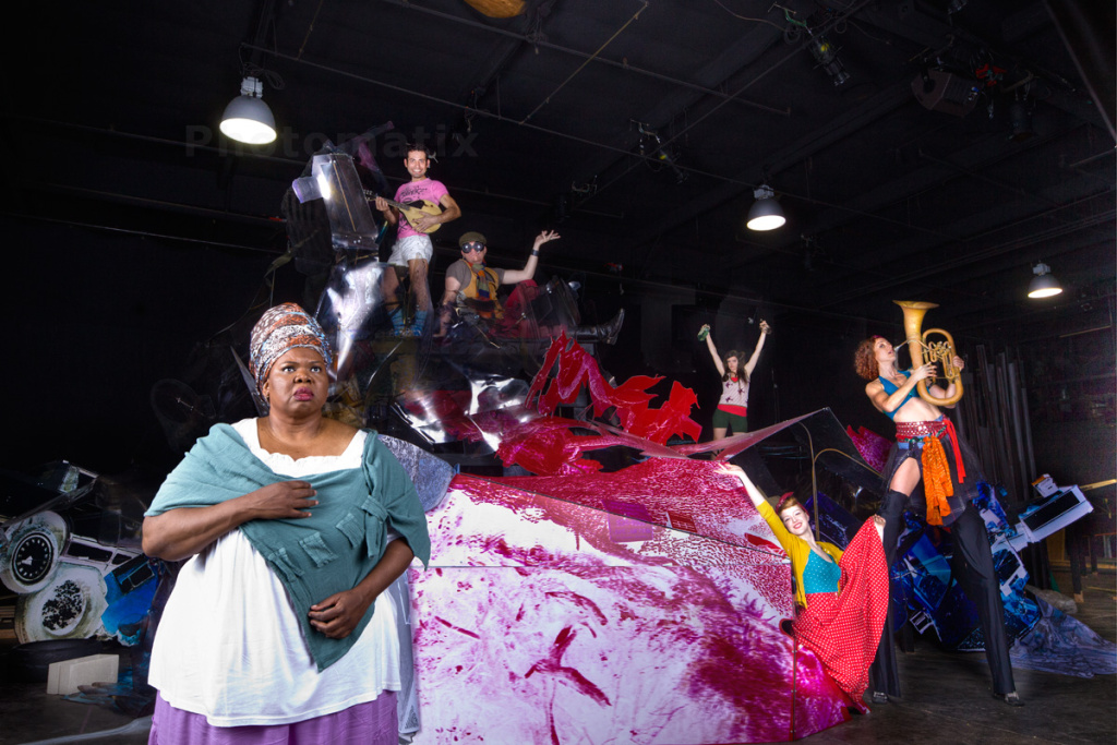 Gwendolyn Brown as Marie Laveau in The Industry's production of Crescent City