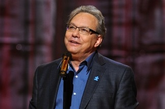 Patt gavels Comedy Congress to order with comedic great Lewis Black.