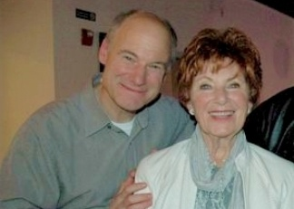 Jim Meskimen and his mom, Marion Ross.