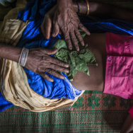 Abortions are legal in India. But many are performed by traditional midwives, called dais. Sometimes a dai rubs herbs on a woman's stomach or gives her plants to eat.