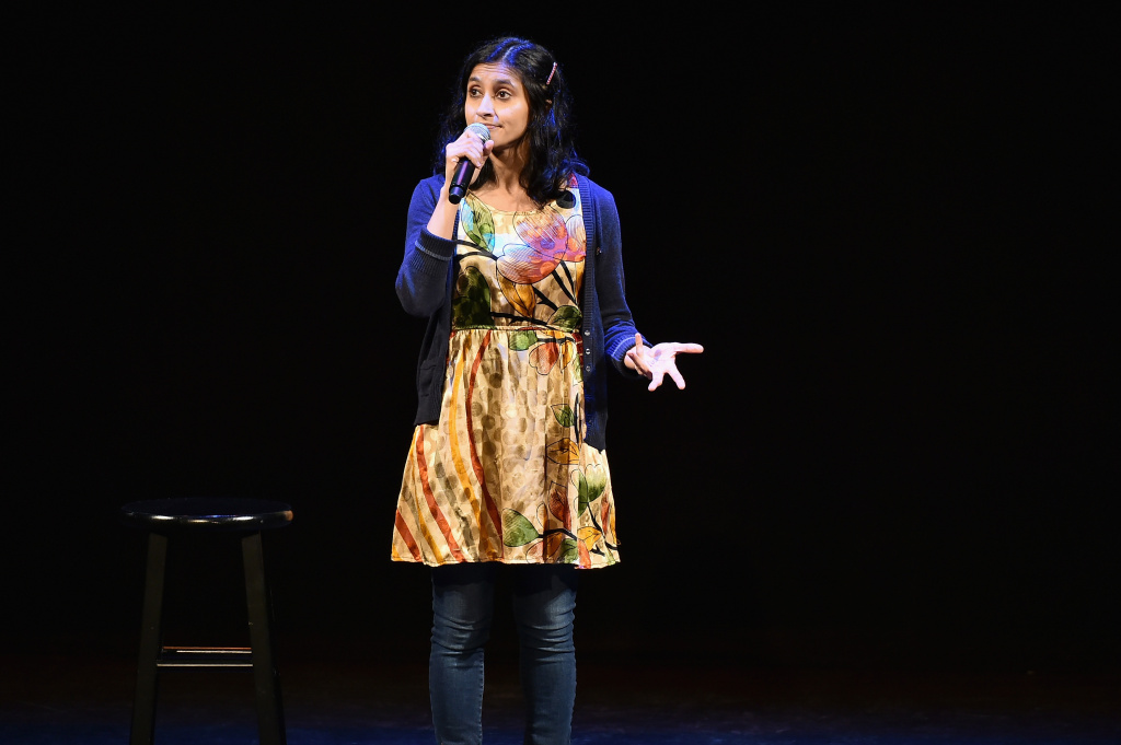 Comedian Aparna Nancherla performs onstage during Vulture Festival on May 22, 2016 in New York City.