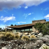 Sure to be photographed by thousands of modernistas during Palm Springs Modernism Week: The Edris House, designed in 1953 by E. Stewart Williams.