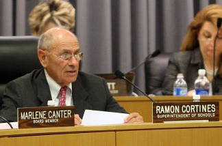 File photo: LAUSD Superintendent Ramon Cortines faces a suit brought by a school district employee, who has sued him twice before.