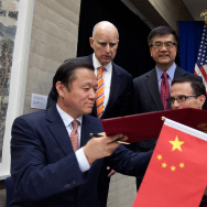 California Governor Jerry Brown Leads Trade Mission To China