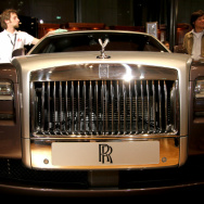 A Rolls Royce Ghost priced at 352, 944 e