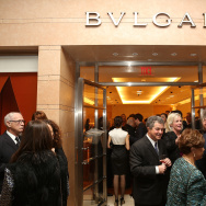 The Bulgari Boutique during a benefit for the Pacific Symphony held at the Bulgari Boutique in South Coast Plaza on Thursday, February 21, 2013 in Costa Mesa, Calif. (Photo by Ryan Miller/Invision/AP)