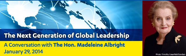 Luskin Lecture Series: A Conversation with Madeleine Albright