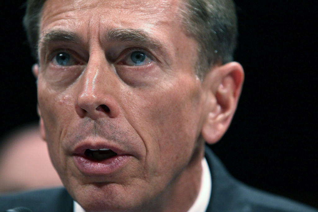 CI Director David Petraeus participates in a House Select Intelligence Committee and Senate Intelligence Committee joint hearing last year in Washington, D.C.