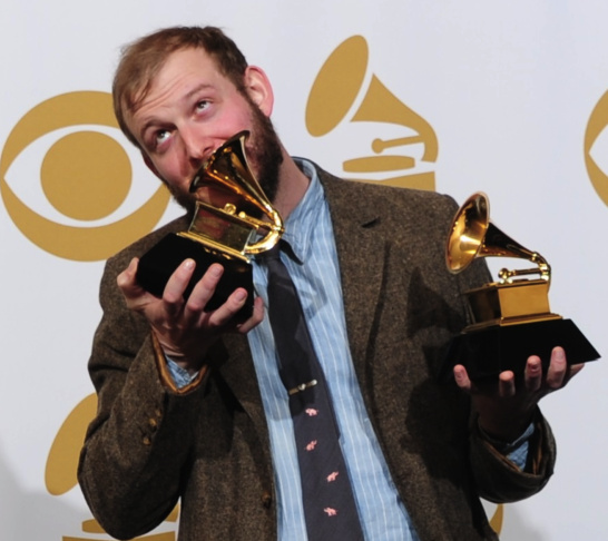 Justin Vernon of Bon Iver poses with the