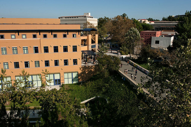 The Student Center on the campus of UC Irvine is pictured in this file photo.