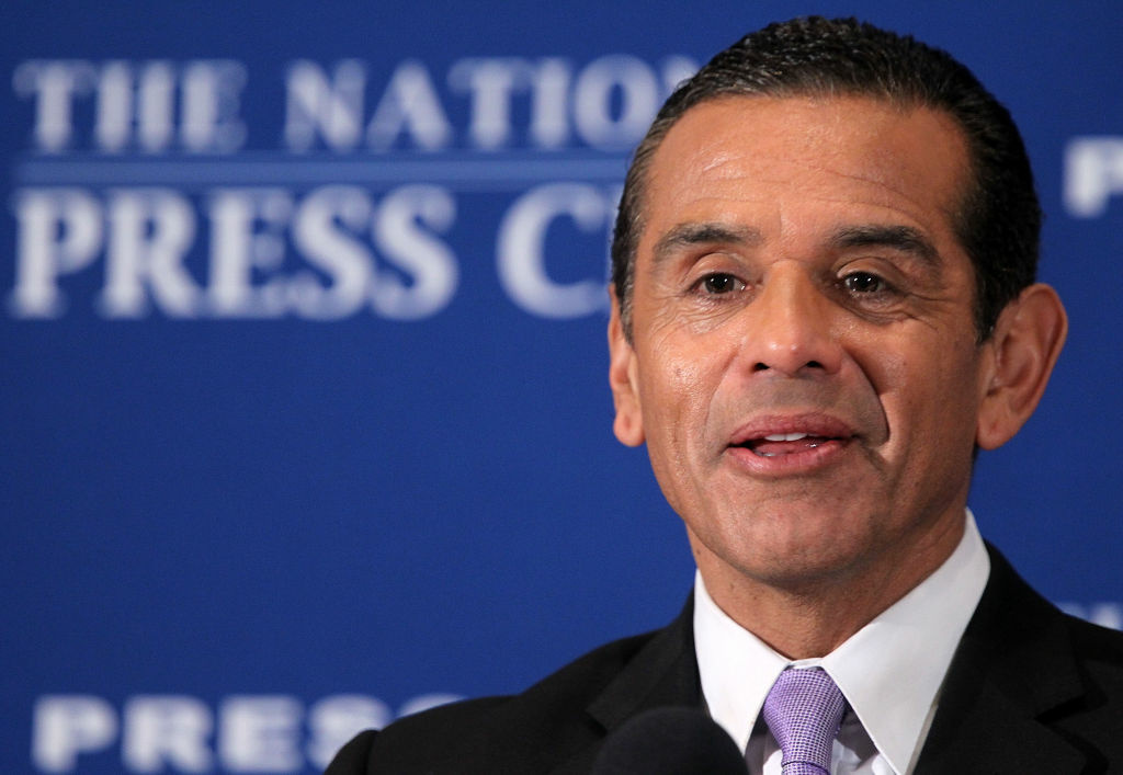 Los Angeles Mayor Antonio Villaraigosa included comments on gun control in his speech earlier this week at the National Press Club in Washington, DC.