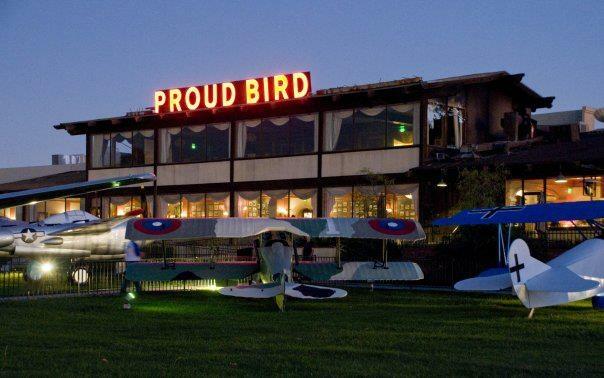 Proud Bird restaurant at LAX.