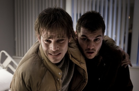 Stephen Dorff (L) and Emile Hirsch star in the new film,