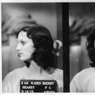 Patty Hearst's mugshots upon her arrest in 1975. Jeffrey Toobin's new book 'American Heiress' uses previously unavailable documents to dig deep into Hearst's crimes and the sensational court case that followed.