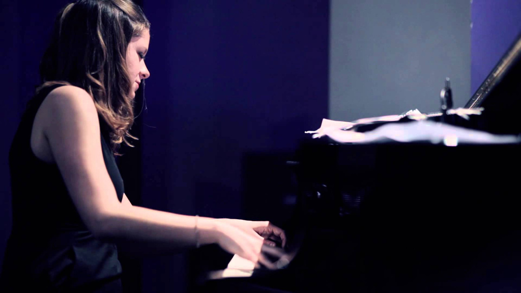 Pianist and composer Cathlene Pineda.