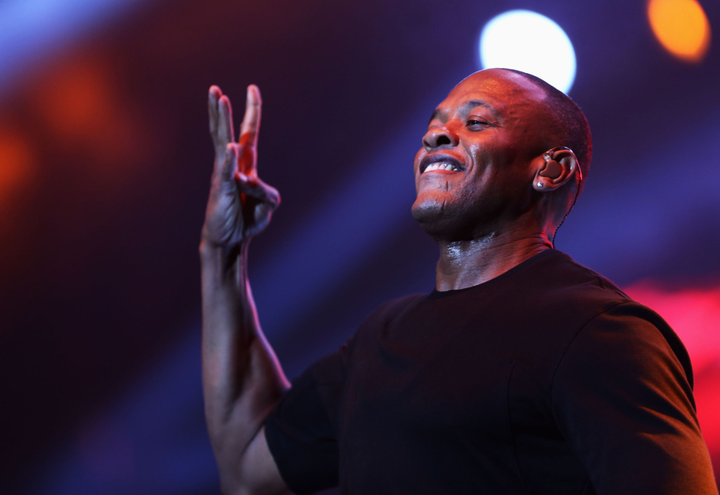 Rapper Dr. Dre performs during the 2013 BET Experience at Staples Center on June 29, 2013 in Los Angeles, California.