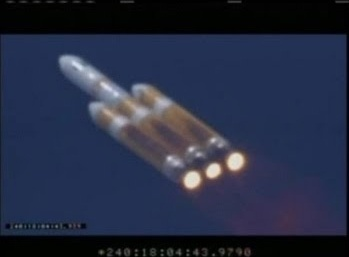 The world's largest rocket operating successfully launched today, August 28th 2013 at 18:03 UTC from Vandenberg Air Force in California. The 23 story rocket carried the top secret NROL-65 payload into orbit for the National Reconnaissance Office.  This was the 7th Delta IV heavy to launch and the 24th Delta IV overall.