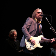 Tom Petty performing at Arroyo Seco Weekend in Pasadena, California. Petty passed away last night due to a heart attack, he was 66.