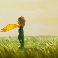 "A scene from a stop-motion sequence in ""The Little Prince."""