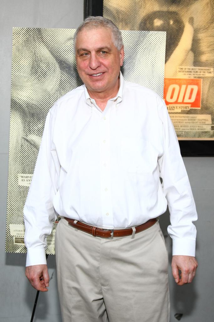 Errol Morris at the premiere of his 2011 film, Tabloid.
