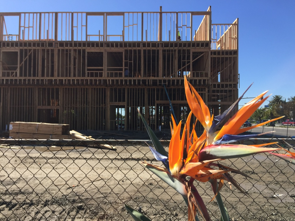 A site that was proposed for new affordable housing units in Huntington Beach.