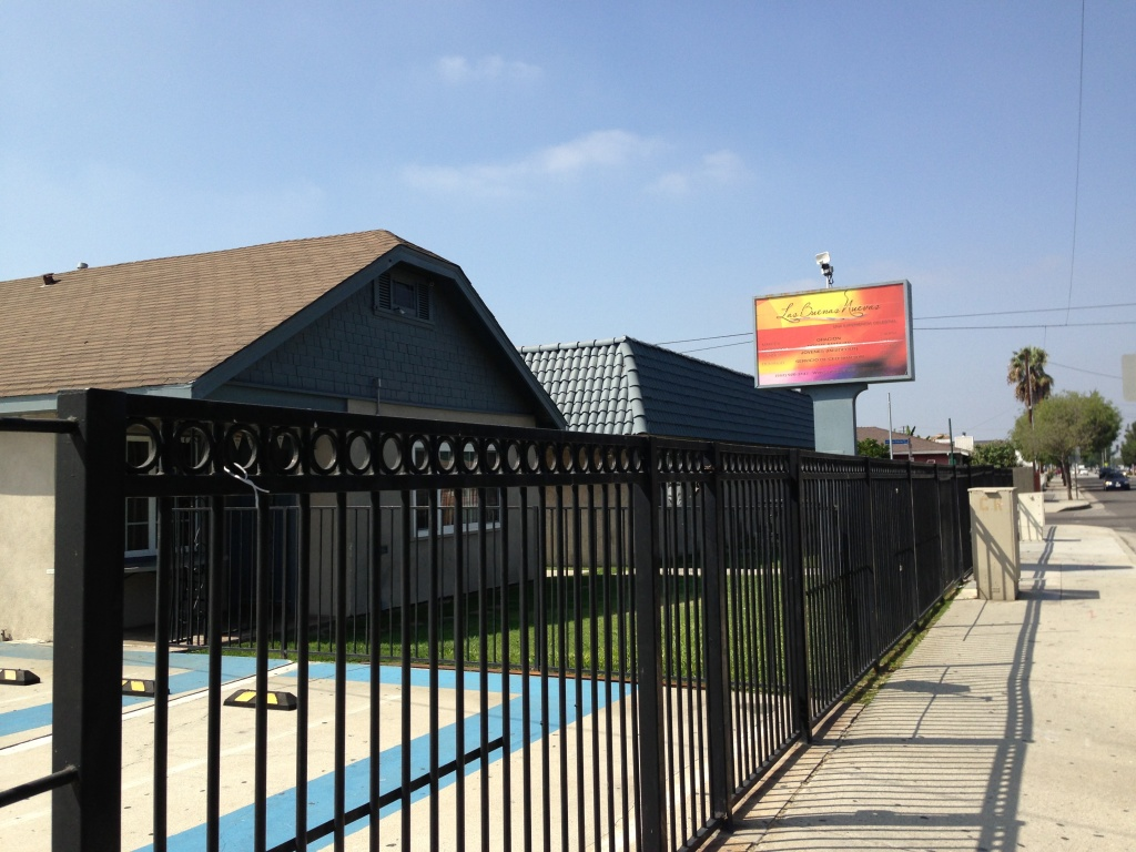 Las Buenas Nuevas Church sat locked and seemingly empty on September 19, the day L.A. Sheriff's Officials announced they'd arrested an assistant pastor at the church for allegedly raping congregants.