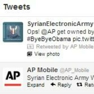 AP Mobile Twitter hacked