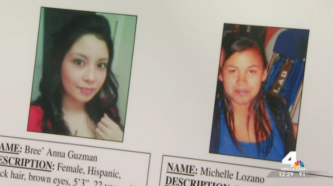 Los Angeles police and city officials announced two $50,000 rewards Tuesday for information leading to an arrest or arrests in connection with a pair of unsolved 2011 killings. The slayings of Michelle Lozano, 17, and Bree'Anna Guzman, 22, were initially thought to be unrelated.