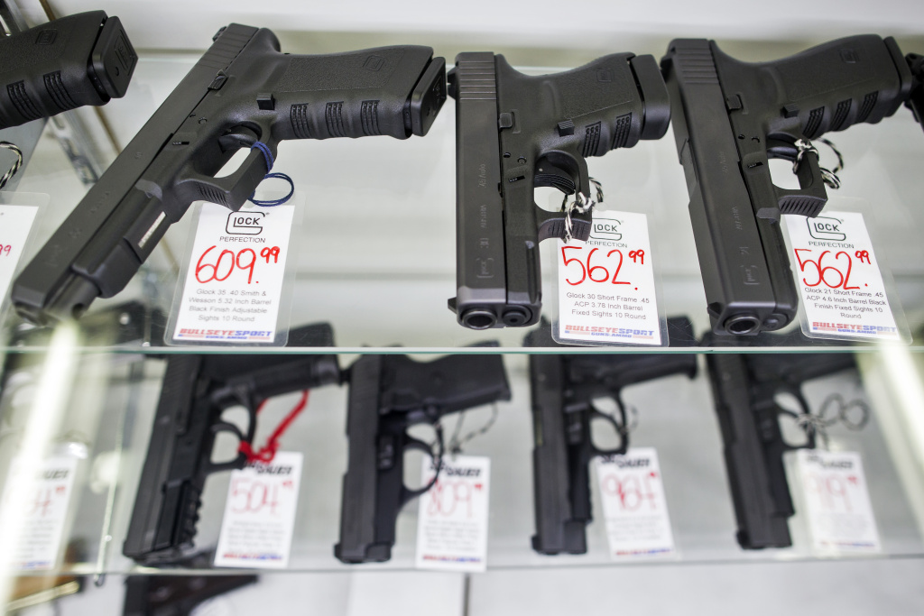 Trump effect keeps CA gun sales lower after Vegas shooting