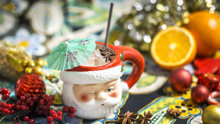 File photo of a holiday-themed cocktail.