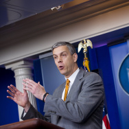 US Secretary of Education Arne Duncan sp