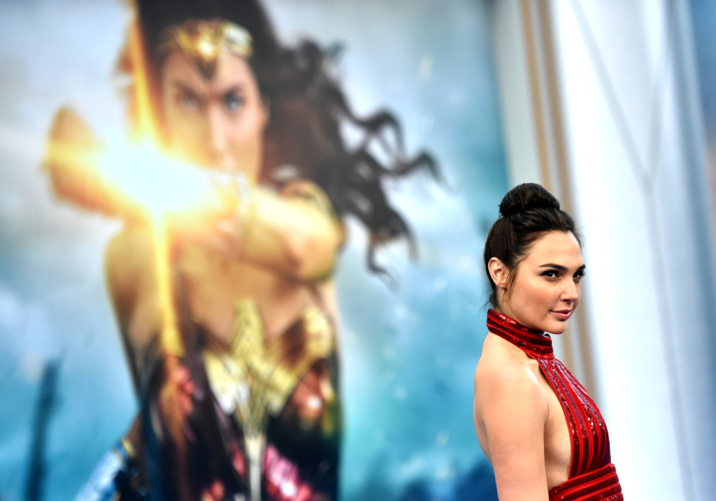 Actress Gal Gadot arrives at the premiere of