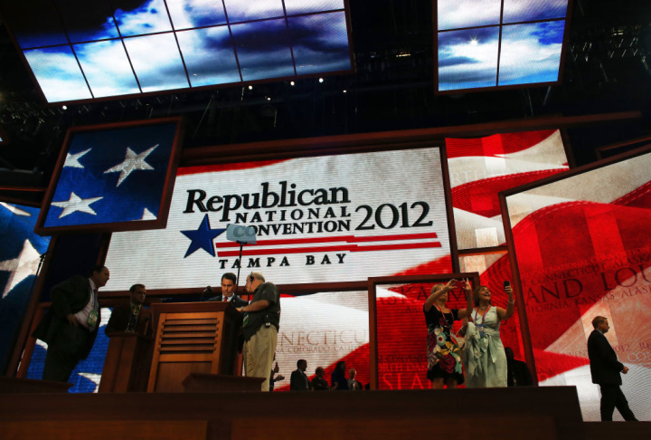 Tampa Prepares For Republican National Convention And Potential Hurricane