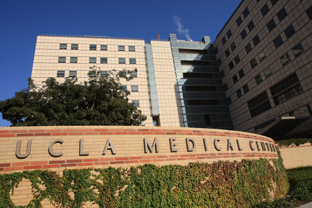Ronald Reagan UCLA (University of California Los Angeles) Medical Center is seen on Oct. 9, 2008 in Los Angeles.