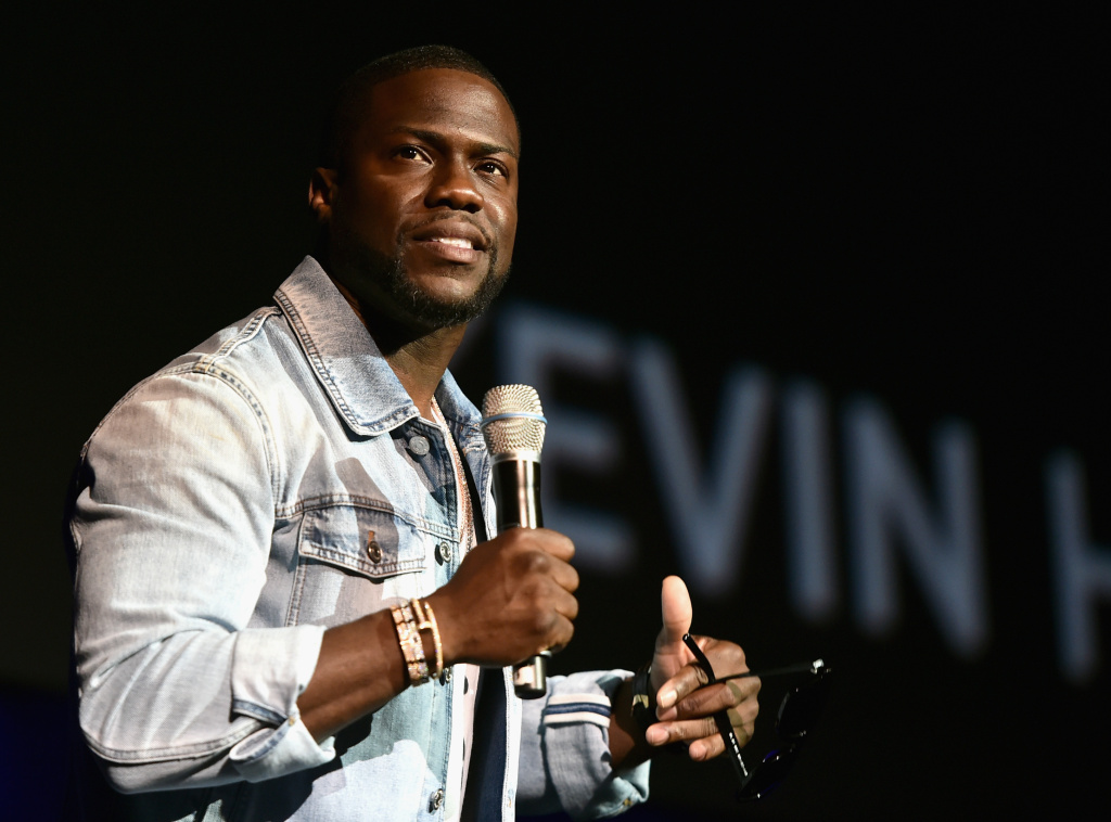 Actor Kevin Hart speaks onstage during CinemaCon 2016 as Universal Pictures Invites You to an Exclusive Product Presentation Highlighting its Summer of 2016 and Beyond.