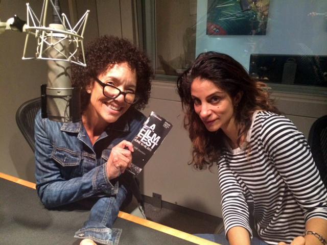 Stephanie Allain and Roya Rastegar of the Los Angeles Film Festival, in a studio at NPR West.