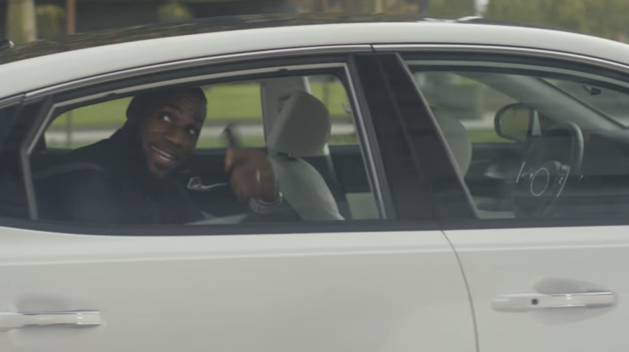 NBA superstar Lebron James is part of Intel's new self-driving car public service campaign.