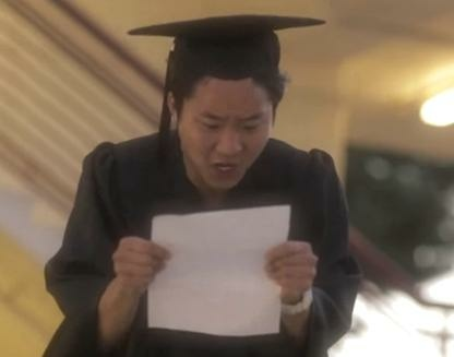 "In this fantasy sequence from ""Does your Asian mom vote?"" a young man learns he might not get to college."